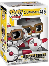 Load image into Gallery viewer, Cuphead #415- Aeroplane Cuphead - Funko Pop! Games