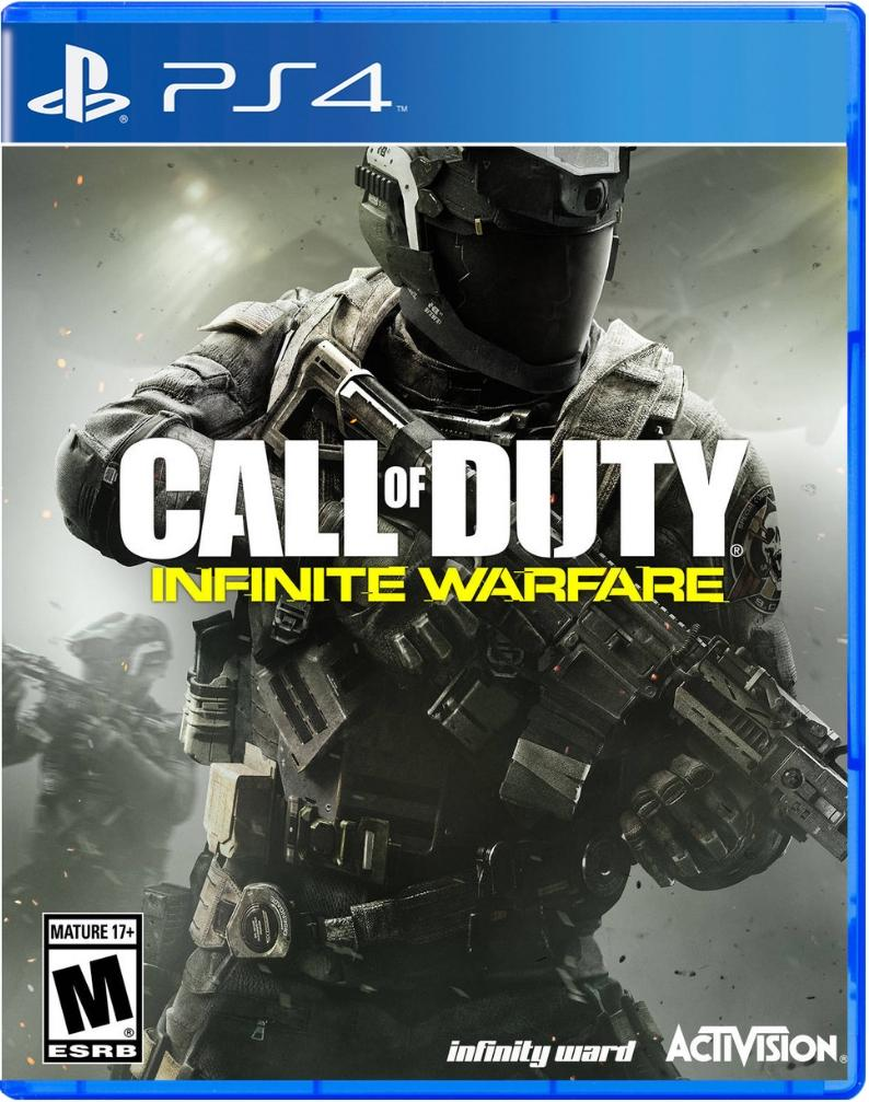 Call of Duty Infinite Warfare ps4 us
