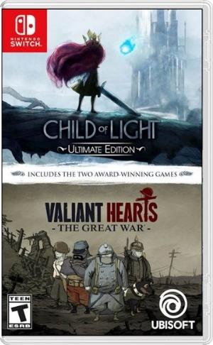 Child of Light  Valiant Hearts Double Pack switch us