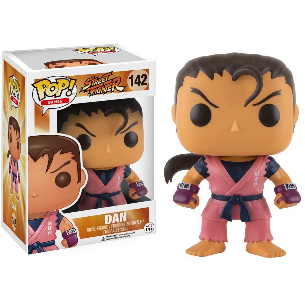Street Fighter #142 - Dan - Funko Pop! Games