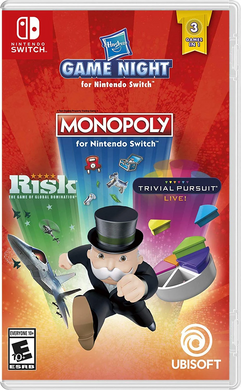 Hasbro Game Night - Monopoly (US)