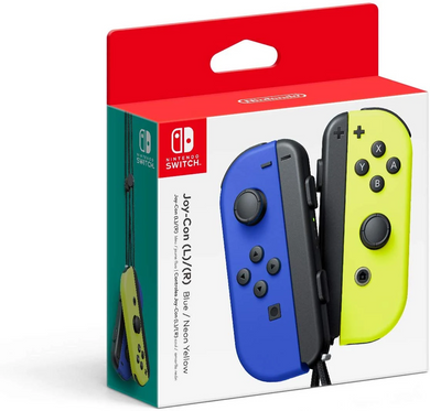 Joy-Con (L/R) - Blue/ Neon Yellow