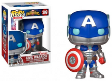 Load image into Gallery viewer, Marvel Contest of Champions #299 - Civil Warrior - Funko Pop! Games
