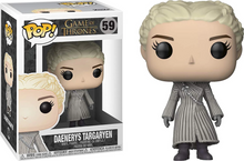 Load image into Gallery viewer, Game of Thrones #59 - Daenerys Targaryen (White Coat) - Funko Pop!