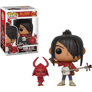 Kubo and The Two Strings #650 - Kubo with Little Hanzo - Funko Pop! Movies