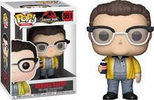 Load image into Gallery viewer, Jurassic Park 25th Anniversary #551 - Dennis Nedry - Funko Pop! Movies