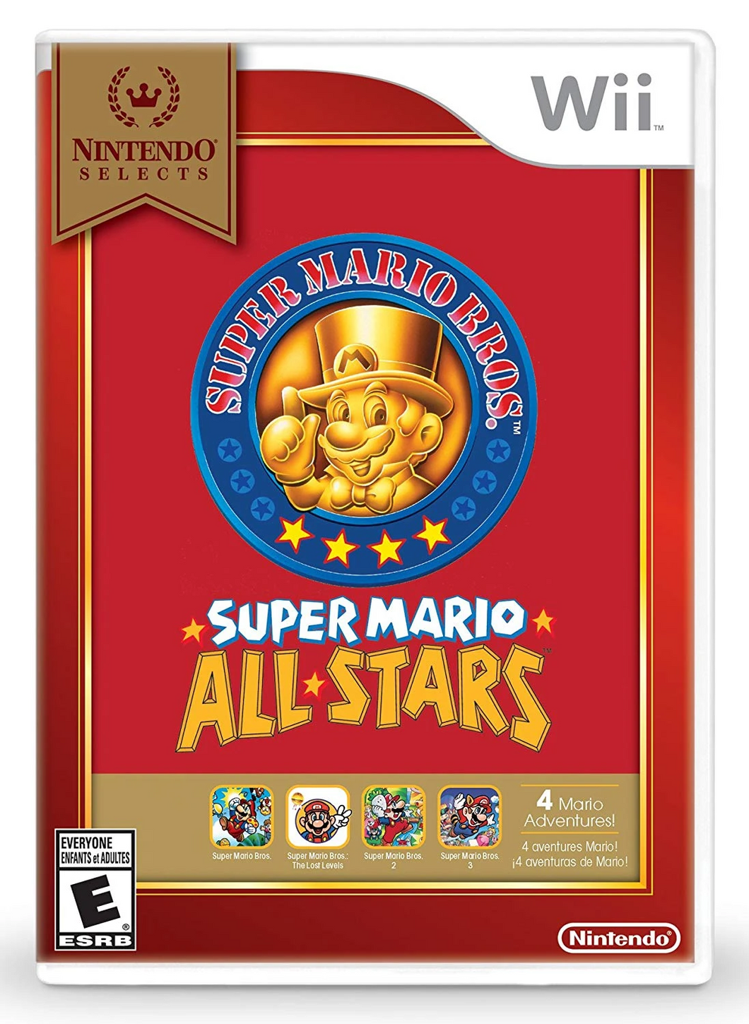 Nintendo Selects: Super Mario All-Stars (US)