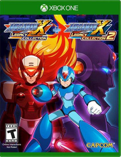Mega Man X Legacy Collection 1+2 xbox one us
