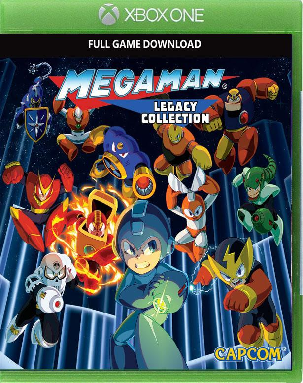 Megaman Legacy Collection xbox one us