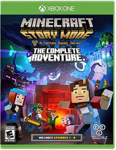Minecraft Story Mode - The Complete Adventure xbox one us