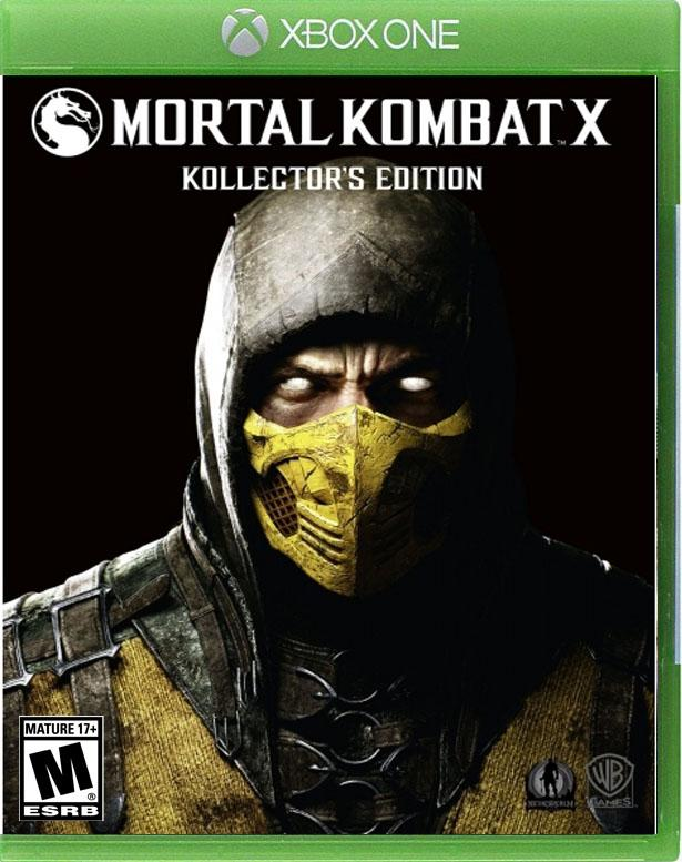 Mortal Kombat X xbox one us