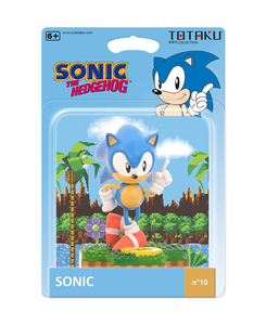 Totaku Collection Figure #10 - Sonic The Hedgehog - Sonic