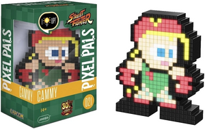PDP Pixel Pals Collectible - #21 - Street Fighter - Cammy