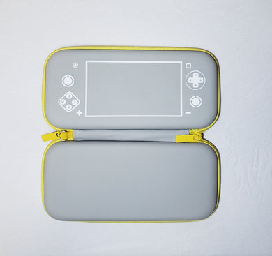Nintendo Switch Case Lite (Controller Design -  Gray/Yellow)