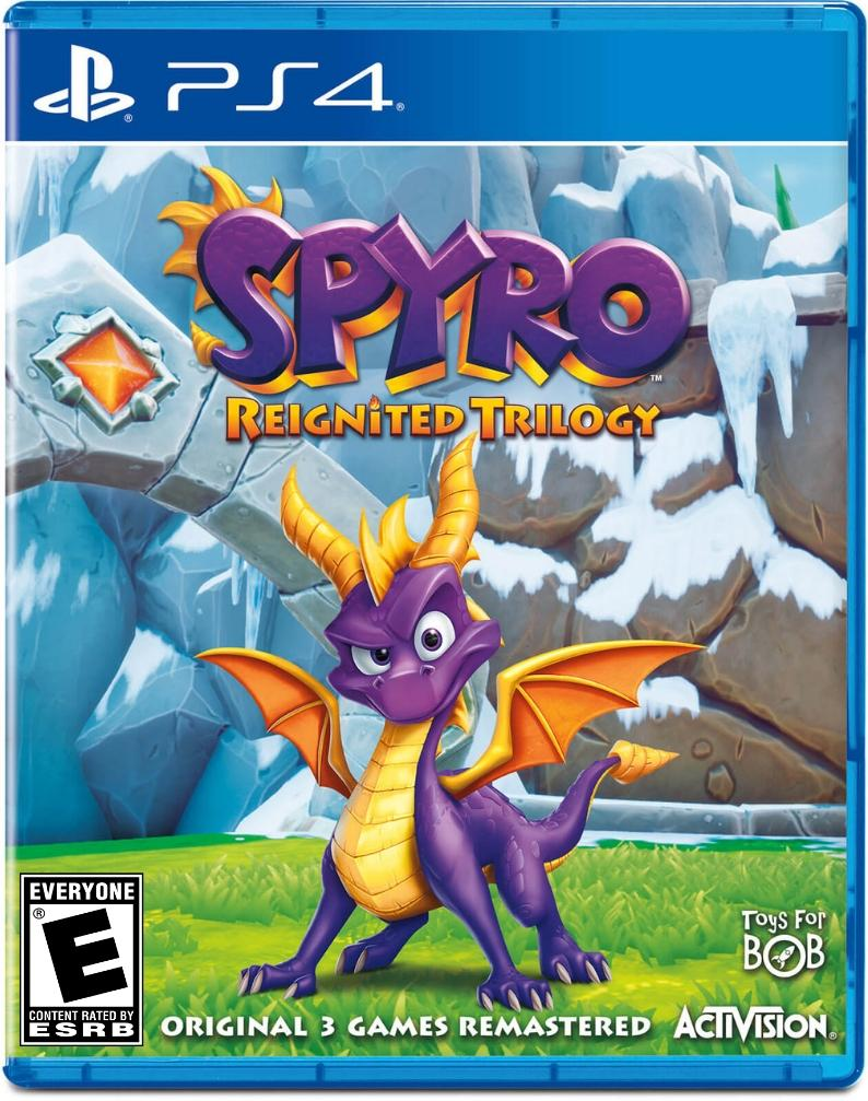 Spyro Reignited Trilogy ps4 us