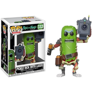 Rick and Morty #332 - Pickle Rick with Laser -  Funko Pop! Animation