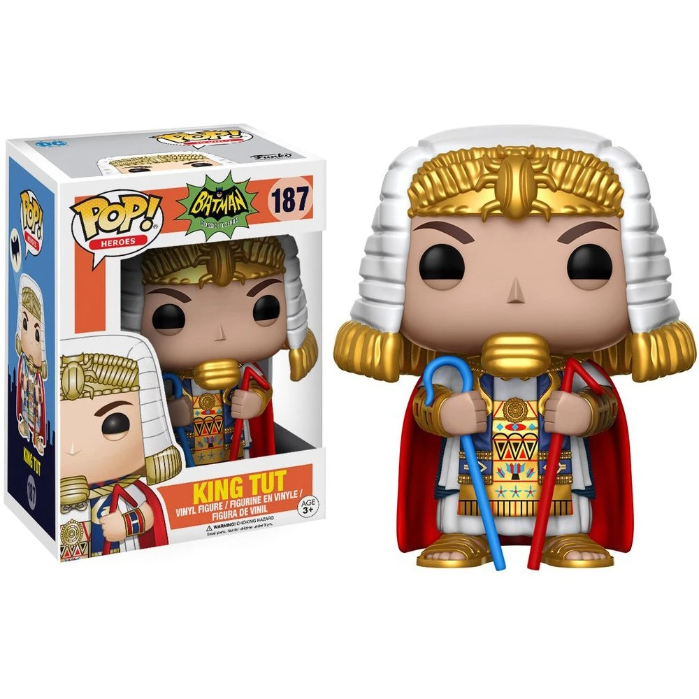 Batman Classic Tv Series #187 - King Tut - Funko Pop! Heroes