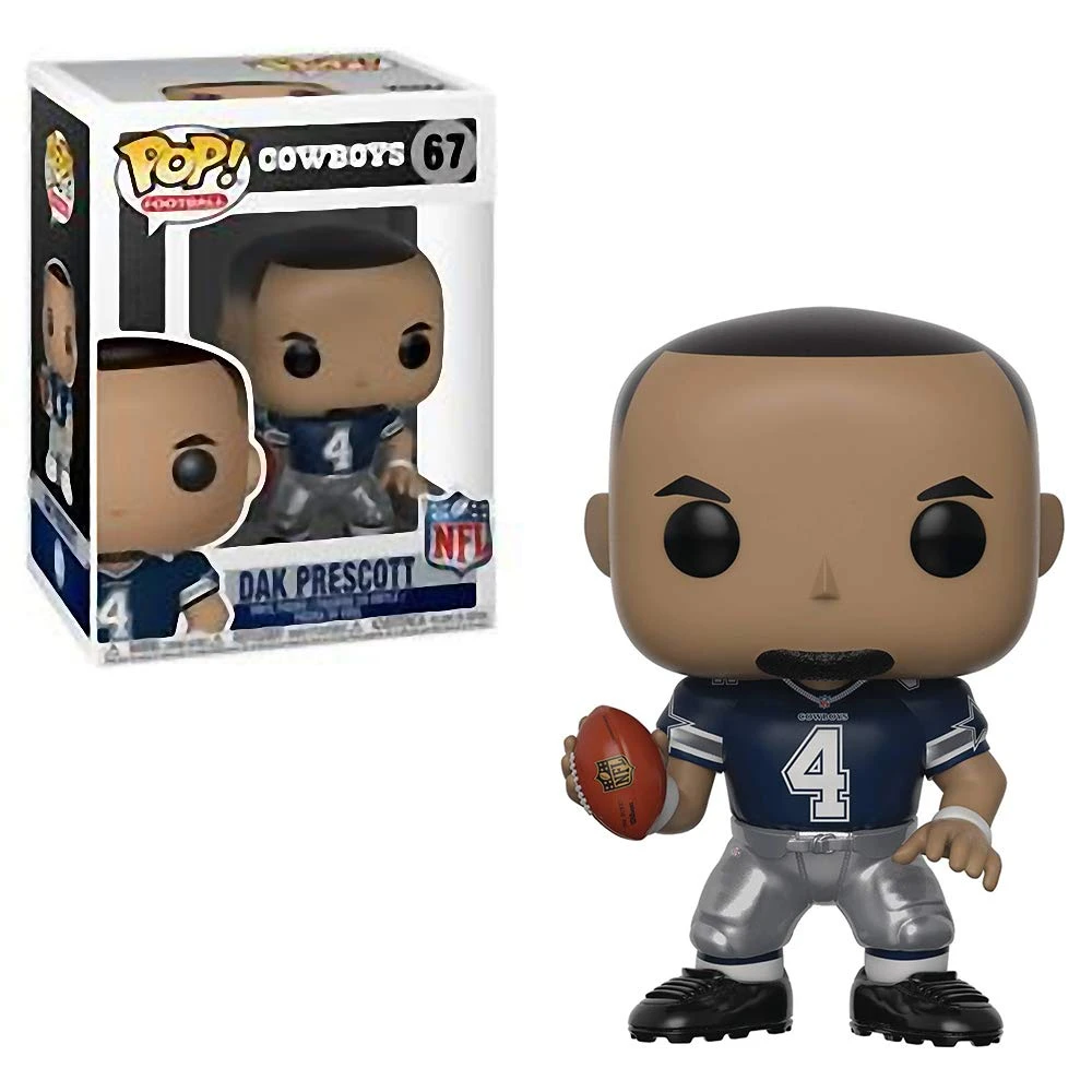 NFL Dallas Cowboys #67 - Dak Prescott - Funko Pop! Football