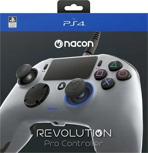 Nacon Revolution Pro PlayStation 4 Wired Controller - Grey