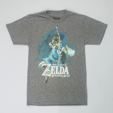 Official Licensed Nintendo Zelda Siro Soft H T-Shirt - Size: Large