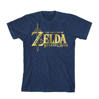 Official Licensed Nintendo Zelda Youth T-Shirt - Size: Large
