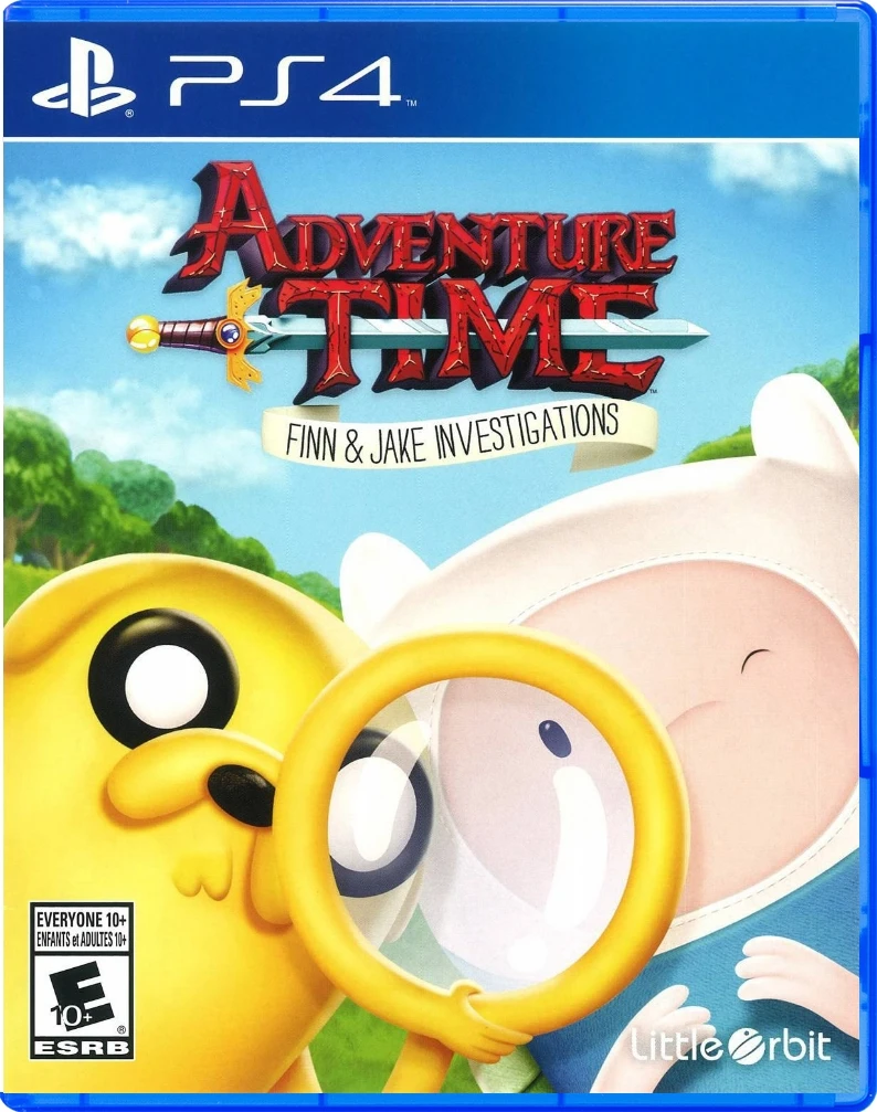 Adventure Time Finn and Jake Investigations (US)