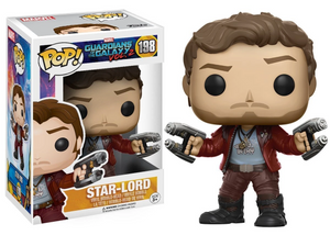 Marvel Guardians of The Galaxy 2 #198 - Star-Lord - Funko Pop! Marvel