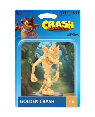 Crash Bandicoot - Golden Crash - Totaku Collection Figure #29