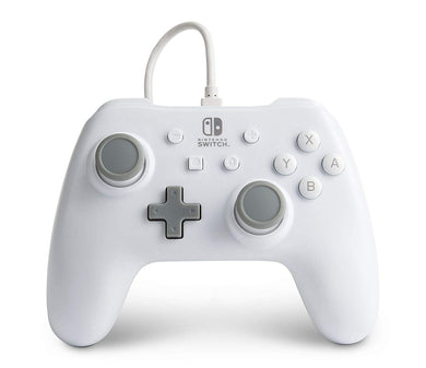 PowerA - Enhanced Wired Controller for Nintendo Switch - White