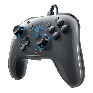 Faceoff Deluxe Wired Pro Controller for Nintendo Switch (Zelda: Botw)