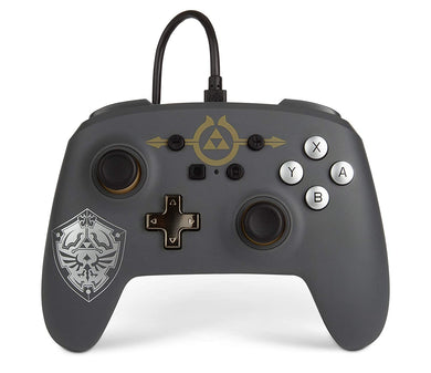 PowerA - Enhanced Wired Controller for Nintendo Switch - Hylian Shield