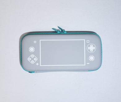 Nintendo Switch Case Lite (Controller Design - Gray / Green)