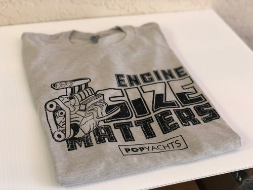 Engine Size Matters T-Shirt