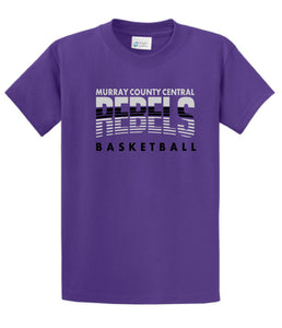 MCC Rebels Basketball Port & Company Essential Tee