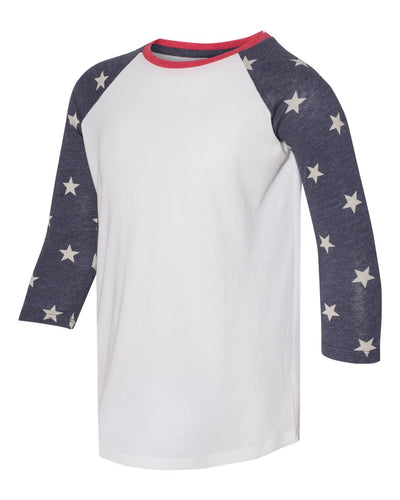 Alternative - Youth Eco-Jersey Baseball Raglan Tee