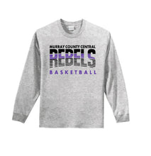 Load image into Gallery viewer, MCC Rebels Basketball Port & Company® - Long Sleeve Essential Tee