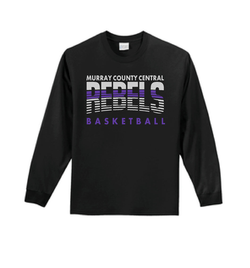 MCC Rebels Basketball Port & Company® - Long Sleeve Essential Tee