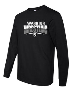 F/MCC WARRIORS WRESTLING Anvil - Midweight Long Sleeve T-Shirt