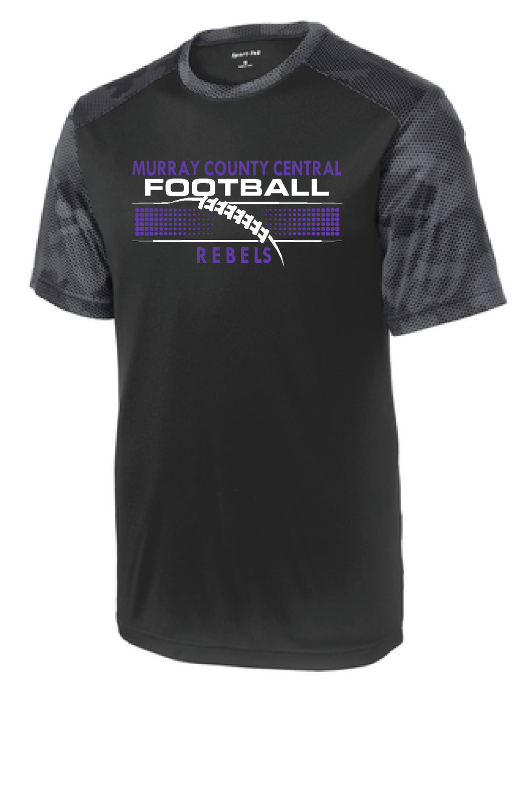 MCC Rebels Football  CamoHex Shirt