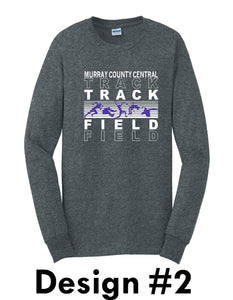 MCC TRACK & FIELD Gildan® - Ultra Cotton®  Long Sleeve T-Shirt -  DESIGN CHOICE