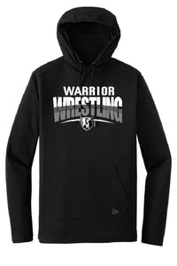F/MCC WARRIORS WRESTLING New Era® Tri-Blend Performance Pullover Hoodie Tee