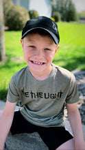 "Load image into Gallery viewer, Riley's Racers 2020 Fundraiser T-Shirt ""Be The Light"""