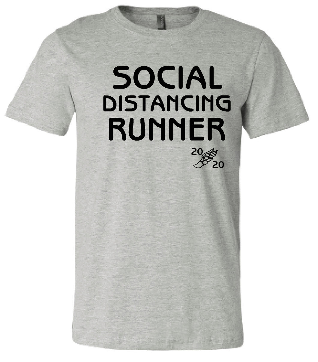 MCC Fulda Cross County Social Distancing Runner 2020 -Port & Company® Core Blend Tee
