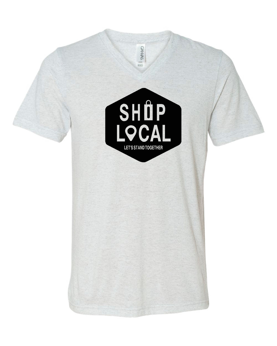 SHOP LOCAL V-Neck Shirt