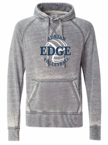 ADRIAN EDGE VOLLEYBALL J. America - Vintage Zen Fleece Hooded Pullover Sweatshirt