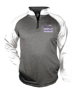 MCJO Volleyball Badger Unisex 1/4 Zip Pullover