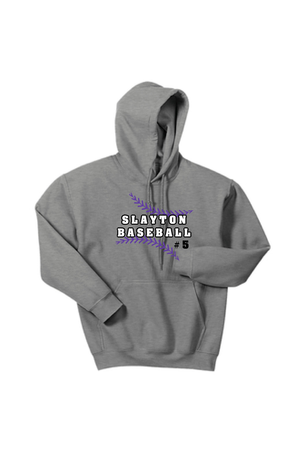 Slayton Baseball Gildan Hooded Sweatshirt