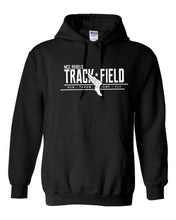 Load image into Gallery viewer, MCC TRACK & FIELD BLACK HOODED SWEATSHIRT #1