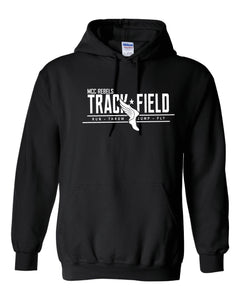 MCC TRACK & FIELD BLACK HOODED SWEATSHIRT #1