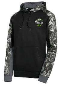 MURRAY COUNTY SOCCER UNITED HOODED BLACK PULLOVER